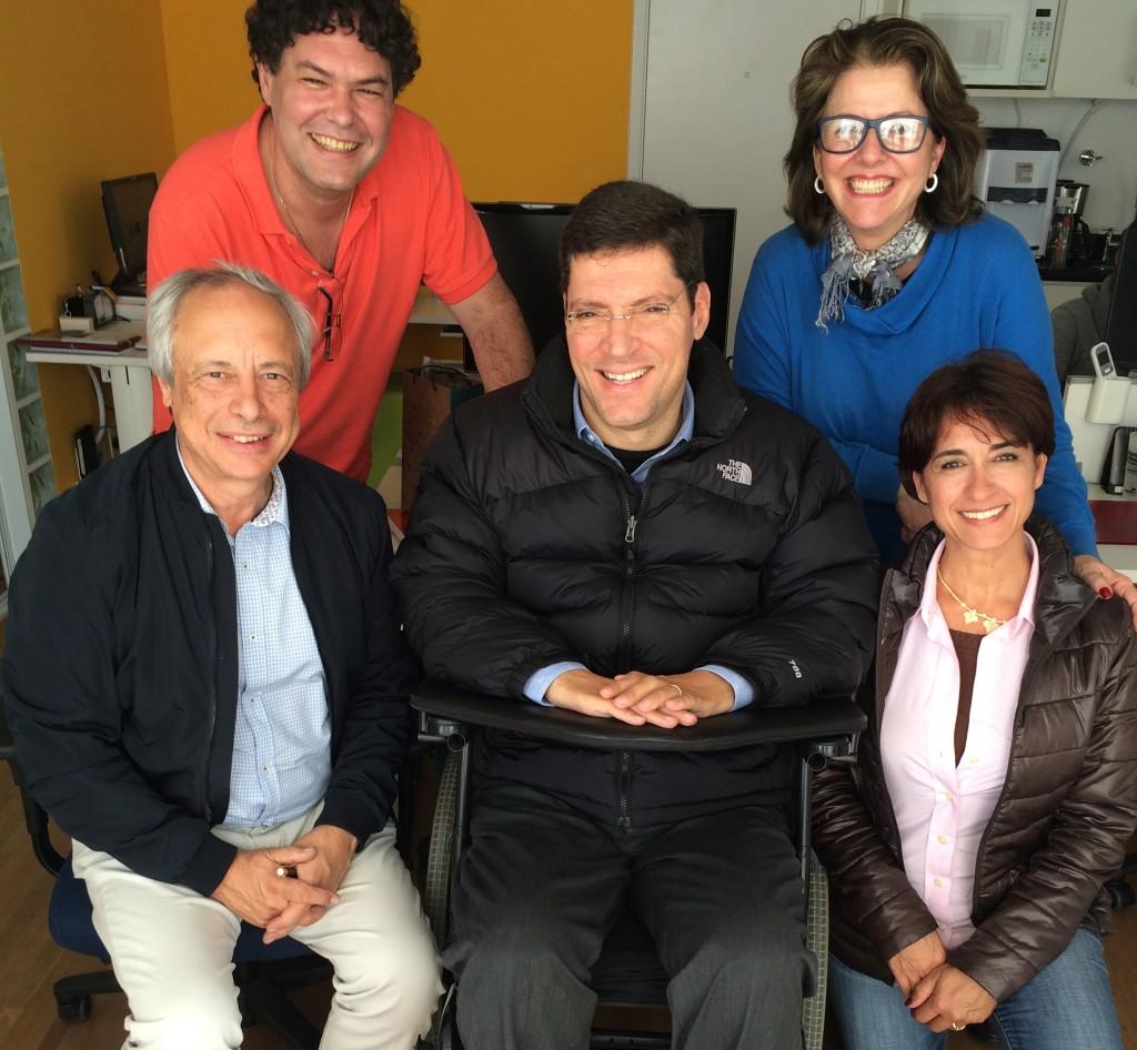 Equipe IRM e professores David e Luzia