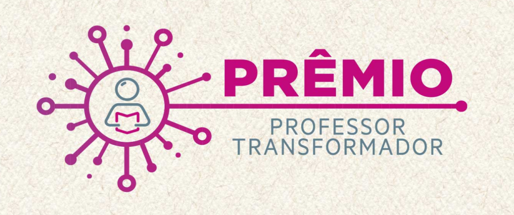 Logotipo do Prêmio Professor Transformador.